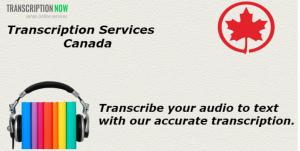 Canada Transcription Services