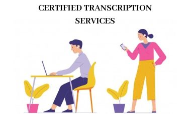 certified transcription services